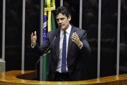 Deputado Daniel Coelho solicita homenagem póstuma a Tarcísio Pereira na Câmara (Foto: Luis Macedo/Câmara dos Deputados)