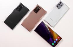 Samsung apresenta novos smartphones para recuperar vendas (Foto: Handout / AFP / Samsung Electronics)