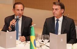 Paulo Skaf, que se reuniu com Bolsonaro, está com Covid-19 (Foto: Isac Nóbrega/PR)