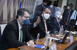 CPI: Omar Aziz relembra Ernesto Araújo do 'comunavírus' (foto: Agência Senado )