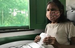 Indígenas aldeados da Amazônia recebem as primeiras doses da vacina (Foto: Ascom Força Aérea Brasileira/Divulgação)