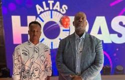 Thiaguinho diz que considera retorno do Exaltasamba: 'É inevitável' (Foto: TV Globo/Reprodução)