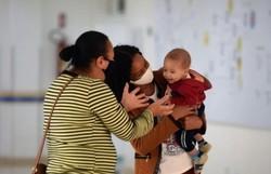DF: bebê recebe transplante de medula da irmã e se cura de doença grave (Foto: Ed Alves/CB/D.A Press)