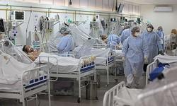 COVID-19: Hospital de Porto Alegre coloca mortos em contêineres (Não há mais leitos de UTI disponíveis em vários hospitais de Porto Alegre. Foto: Michael Dantas/AFP)