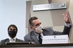 Procuradoria da República no DF abre inquérito para apurar suspeita de propina por vacina (Questão foi denunciada por cabo da Polícia Militar Luiz Paulo Dominghetti. Foto: Edilson Rodrigues/Agência Senado)