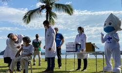 Queiroga: Programa de Imunização é esperança de por fim à pandemia (Foto: Reprodução Twitter Marcelo Queiroga)