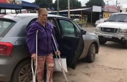Internada com Covid-19, avó de Michelle Bolsonaro tem melhora (Foto: TV Brasília/Reprodução)