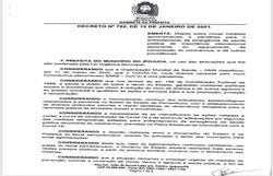 Prefeitura do Ipojuca anuncia decreto com novas restrições contra a Covid-19