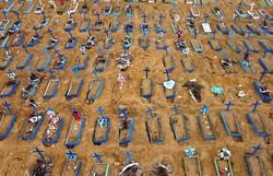 Brasil registra 623 novas mortes por Covid-19; Total chega a 29.937 (Foto: AFP )