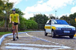 Novo Código de Trânsito aumenta valor de multa para motorista que desrespeita ciclista (Paulo Maciel/Detran-PE)