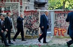 Secretário de Defesa dos EUA se nega a usar tropas para controlar protestos (Foto: Brendan Smialowski/AFP)