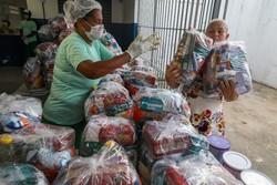 Jaboatão entrega 730 toneladas de alimentos para estudantes da rede municipal (Foto: Chico Bezerra/PJG/Divulgação)