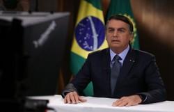 Bolsonaro culpa jornais por conta da pandemia e critica isolamento social (Foto: Marcos Corrêa/PR)