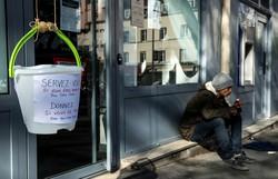 França entra na quarta semana de quarentena com nove mil mortes (Foto: Joel Saget/AFP )