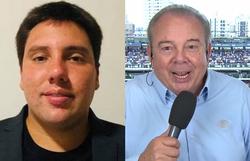 Morre neto do narrador Luciano do Valle após ser baleado em assalto (Foto: Facebook/Reprodução e Band/Reprodução)