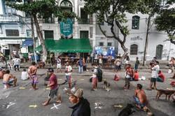 Santa Casa de Misericórdia do Recife cede imóvel ao projeto Marmita Solidária (Foto: Paulo Paiva/DP)