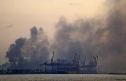 Explosões em Beirute afetam navio da ONU e deixam feridos graves entre capacetes azuis (Foto: STR / AFP  )