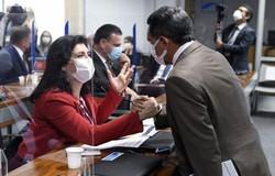 Tebet recebe apoio de colegas da CPI após ataque de ministro da CGU (crédito: Roque de Sá/Agência Senado)