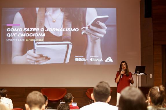 Workshop Jornalismo 4.0 - Diario de Pernambuco (O Diario de Pernambuco promoveu o seu primeiro workshop Jornalismo 4.0, nesta quarta-feira, no auditório do Porto Digital. Foto: Bruna Costa / DP FOTO.)