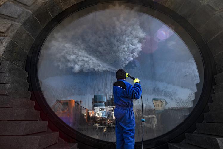 CORONAVÍRUS: Veja as fotos do dia 01 de Abril de 2020