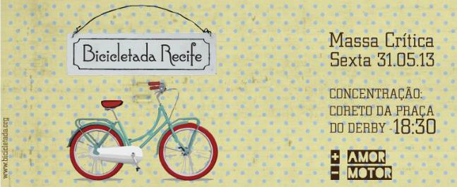 Bicicletada Recife/Divulgação