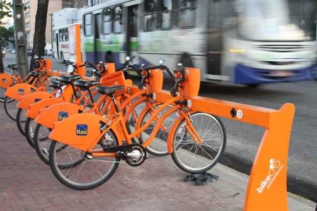 Bikes agora podem ser alugadas em Olinda. Foto: Nando Chiappetta/DP/D.A Press (Nando Chiappetta/DP/D.A Press)