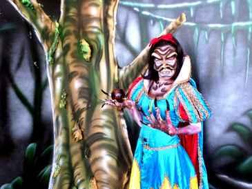 Princesas, madrastas e feiticeiras deixarão o clima de suspense no palco do Mirabilandia. (www.mirabilandia.com.br)