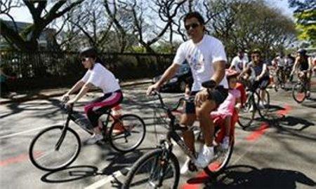 Agora Raí é adepto das bicicletas e do transporte público. Foto: Reprodução (Reprodução)