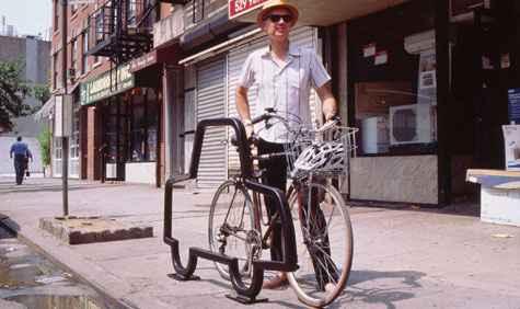David Byrne é conhecido por seu cicloativismo. Foto: Reprodução (Reprodução)