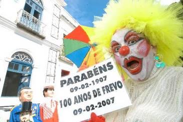 Em 2007, o Frevo completou 100 anos de vida. (Teresa Maia/DP/D.A.Press)