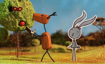 Longa Rabbit and Deer concorre na Mostra Competitiva Infantil. Foto: Animage/Divulgação