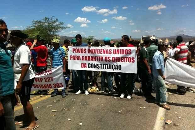 Grupo fez manifestação em Pernambuco, como parte de um movimento nacional. Foto: LUiz salinas/DP/D.A Press