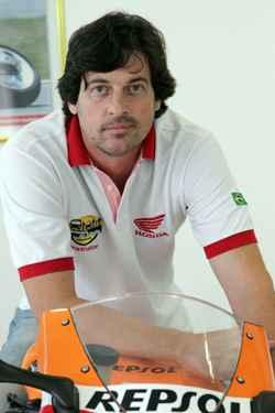 Sérgio Cassoli, instrutor do CT da Honda (Bruna Monteiro DP/D.A Press)