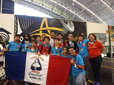 A Final do Torneio, aconteceu no dia 20 de outubro, no Ceará, tendo os estudantes pernambucanos, do Colégio Santa Emília conquistado o primeiro lugar na categoria principal  (Colégio Santa Emília/Divulgação)