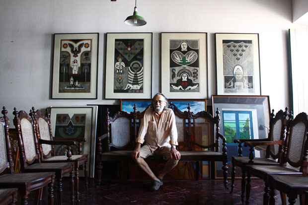 Samico era um dos maiores gravuristas do Brasil. Foto: Lais Telles/Esp. DP/D.A Press/Arquivo