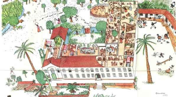 Ilustração de Cícero Dias em Casa-Grande e Senzala/reprodução