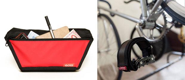 Hip (pochete que se usa acoplada ao cinto) - R / Firma-pé - R (Cyco/ Divulgação)