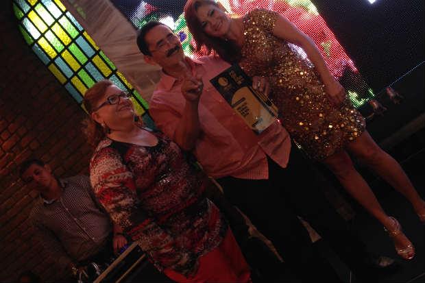 José Cunha e Wilma Dantas, do Carne de Sol do Cunha, premiado como Melhor Carne de Sol.