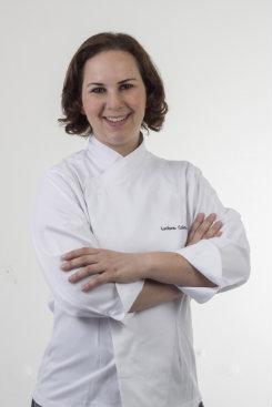 A chef Luciana Sultanum encerra as aulas da terça. Foto: Jo Calazans/Divulgação