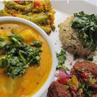 O restaurante bicampeão ganhou este ano com o Vatapá vegetariano. Foto: Facebook/Reprodução