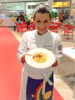 A chef prefere trabalhar com pratos menos sofisticados. Foto: Facebook/Reprodução