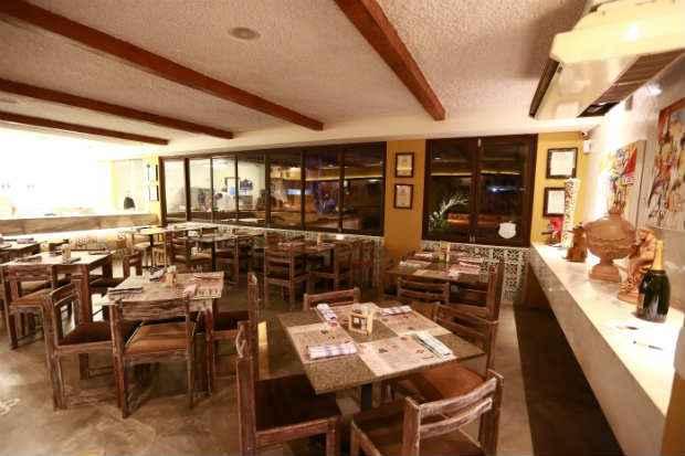 Ambiente do restaurante, onde o jantar será servido em cinco etapas. Foto: Bernardo Dantas/ DP/D.A Press