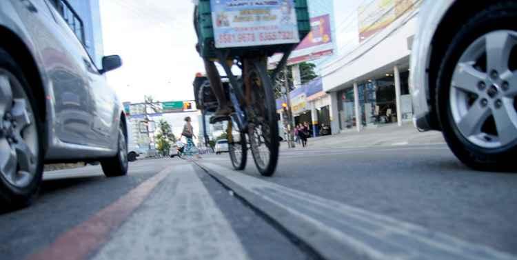 Ministério Público exigiu mais segurança para ciclistas. Foto: Guilherme Verissimo/Esp DP/DA Press