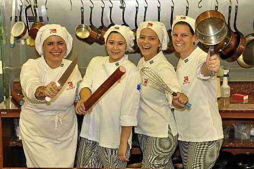 Mayara, Thaís, Taíse e Camila: inspiração em antigas receitas de família. Foto: Divulgação