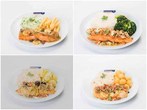 Os pratos ficarão disponíveis até o final do ano. Foto: Camarão&Cia/Divulgação