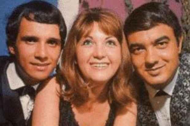 A Jovem Guarda, da esquerda para direita: Roberto Carlos, Wanderléa e Erasmo Carlos. (Reprodução)