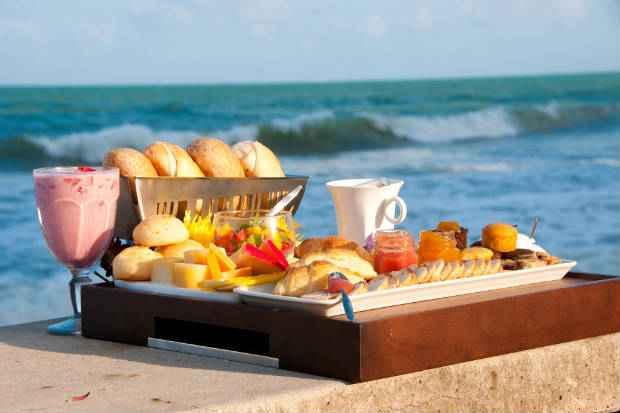 O café da manhã oferecido será reforçado durante os dias de funcionamento. Foto: Campo da Serra/ Divulgação