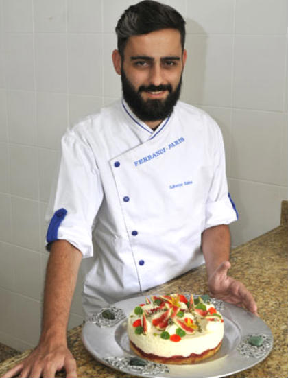 Designer Guilherme Poulain se formou em gastronomia após descobrir paixão pela culinária. Foto: Juarez Rodrigues/EM/D.A Press
