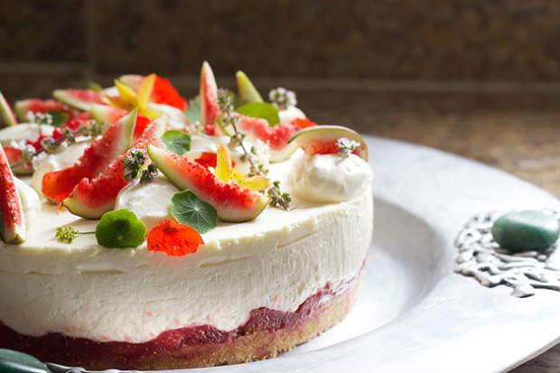 Torta desenvolvida pelo chef Guilherme Poulain. Foto Guilherme Salles/ Divulgação
