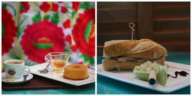 Chás, cafés, bolos e sanduíches estão entre as opções do Lalá Café. Foto: Teresa Maia/DP/D.A Press